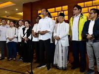 Dari Raja Salman Sampai Donald Trum Ucapkan Selamat Kemenangan Kepada Jokowi-Ma'aruf