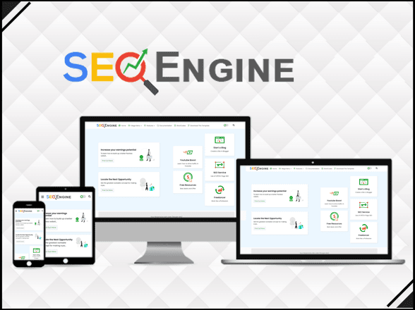 SEO Engine - Responsive & Faster Blogger Template - Blogger Template 2021