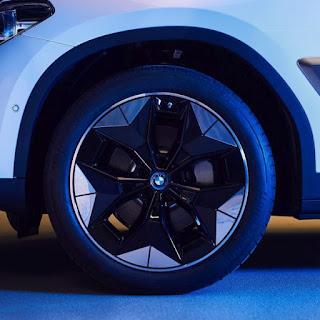 Janta aerodinamica pentru modelul electric BMW iX3