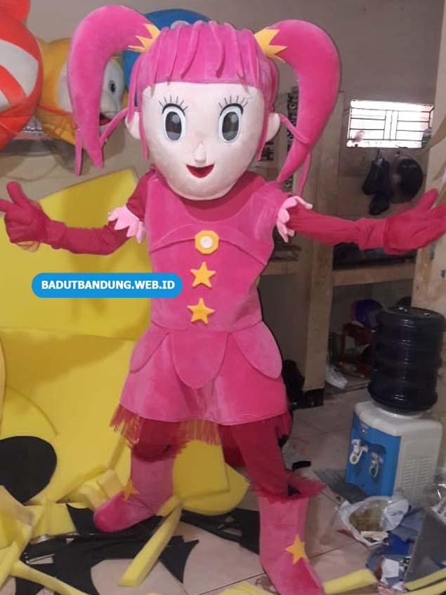 Badut Lol Baju Pink