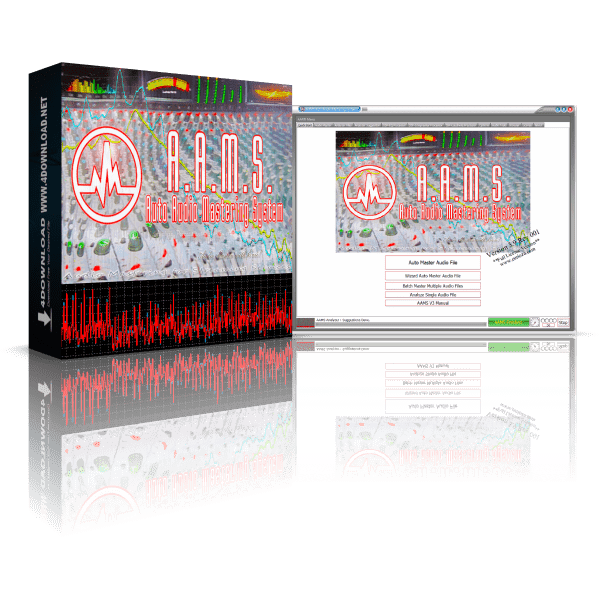 AAMS Auto Audio Mastering System v3.9.0.1 Full version
