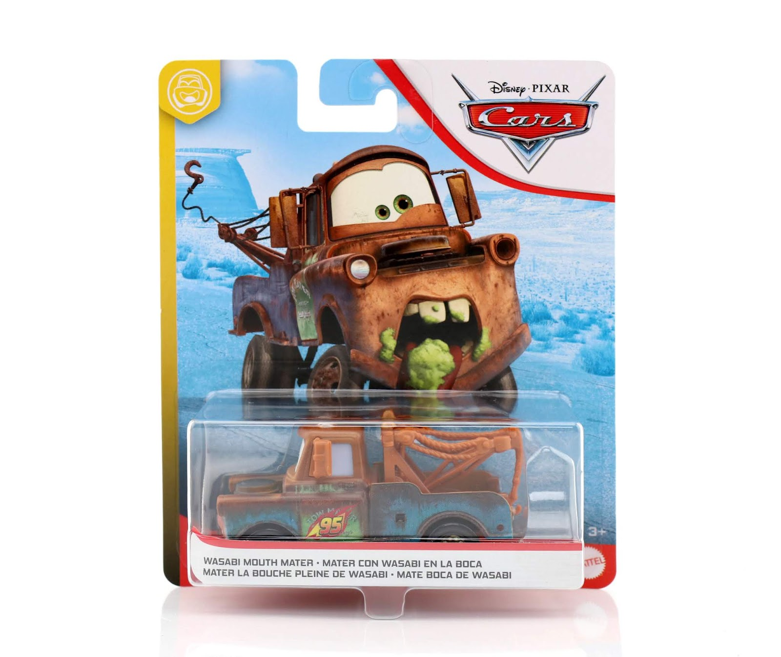 Cars 2 Wasabi Mouth Mater diecast
