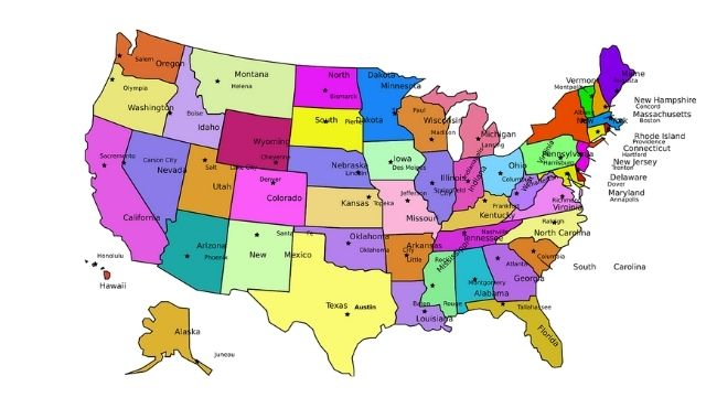 The Top Google Searches in Each U.S. State All Through the 2010s