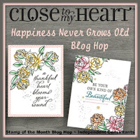 Happiness Never Grows Old Blog Hop Badge