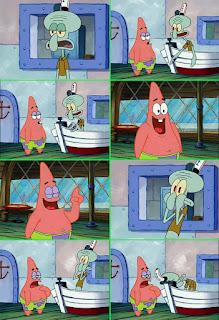 Polosan meme spongebob dan patrick 150 - kebikjasanaan patrick star