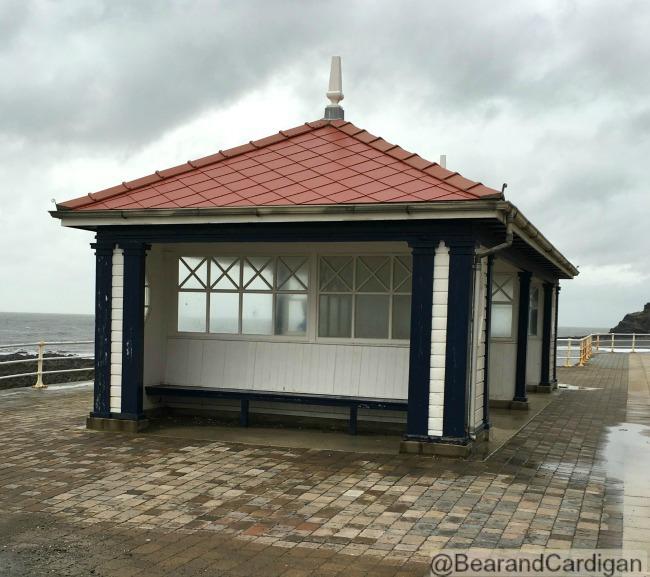 pavilion on Aberystwyth sea front