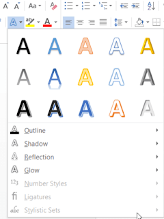 font and format in microsoft word by rean computer101