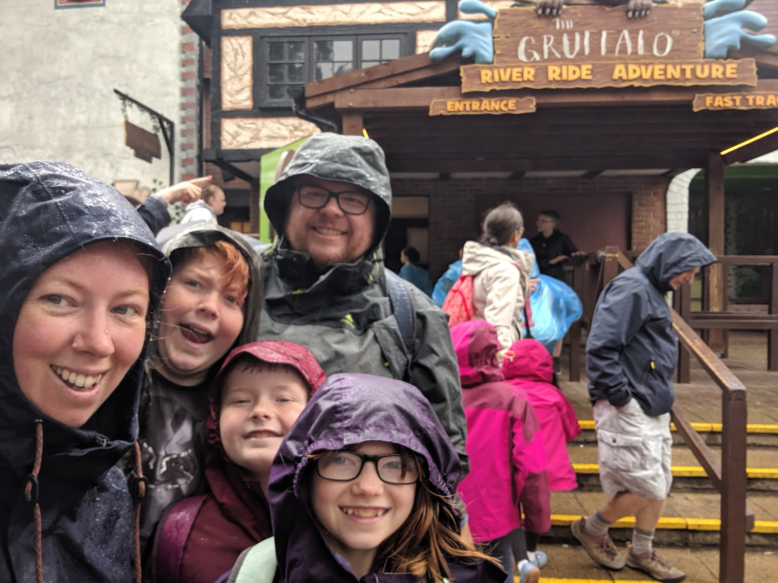 Exploring the Southern Merlin Theme Parks with Tweens  - gruffalo water ride entrance