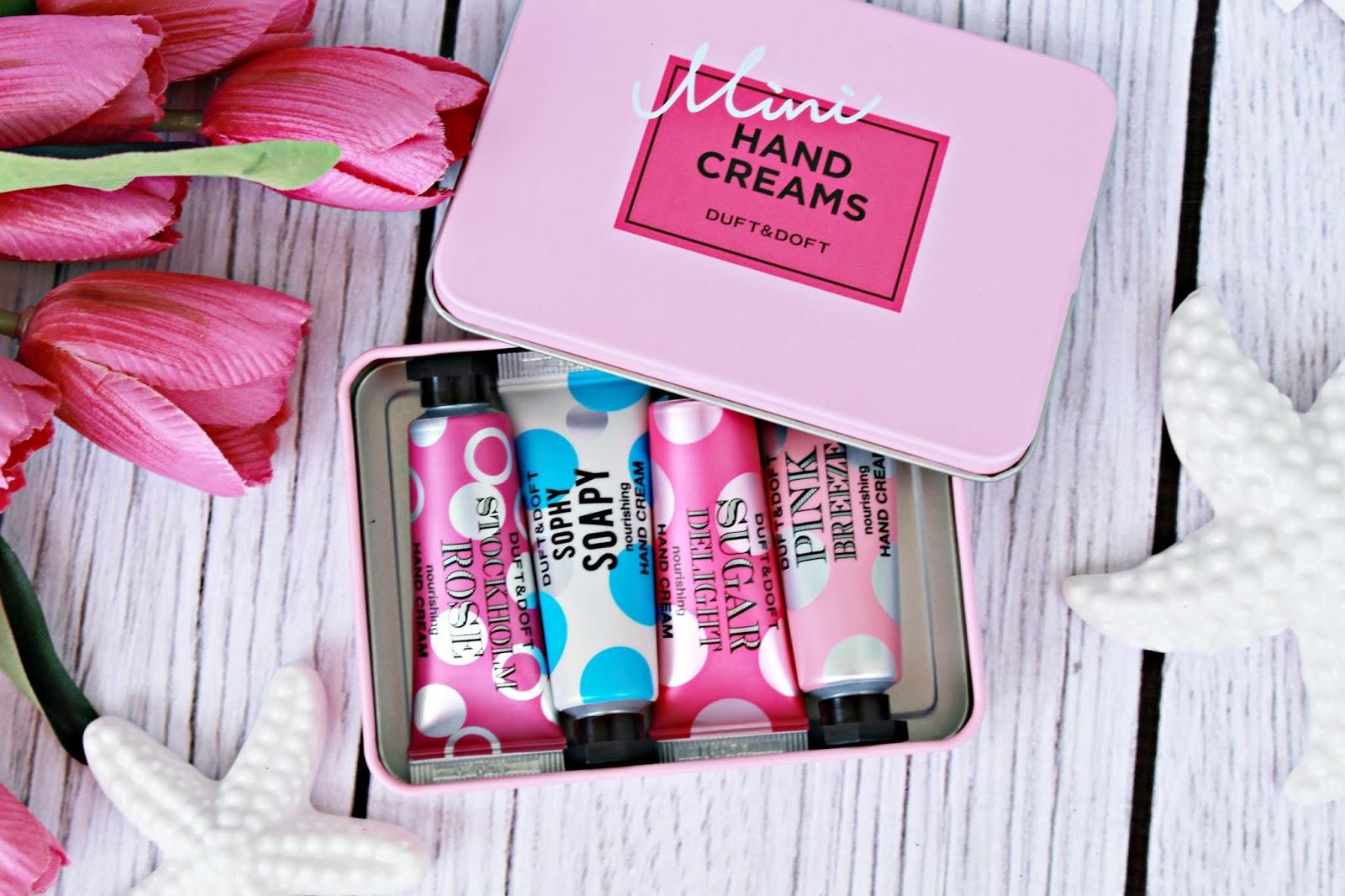 Koreański Hit sprzedaży! Kremy do rąk Mini Hand Creams Duft & Doft