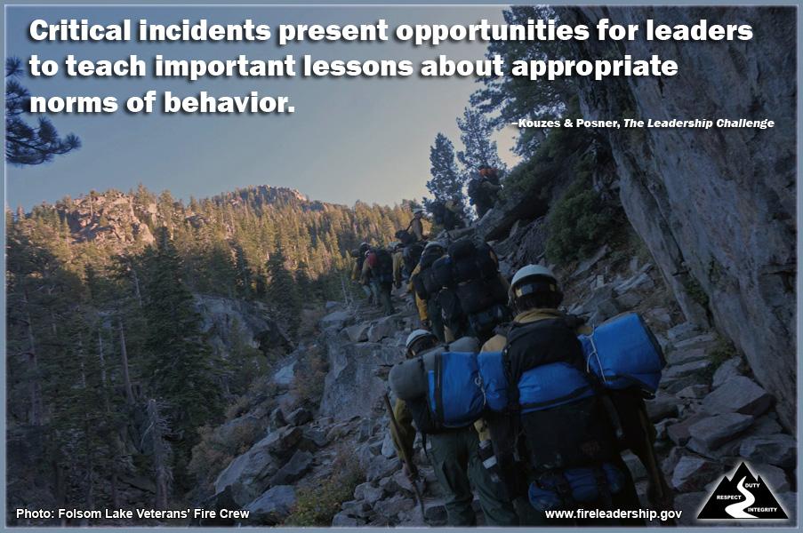 Wildland Fire Leadership: IGNITE: Leaders are Teachers