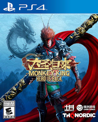 Monkey King Hero Is Back Game Cover Ps4