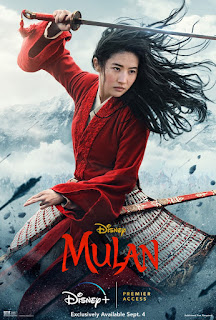 MULAN (2020) movie poster