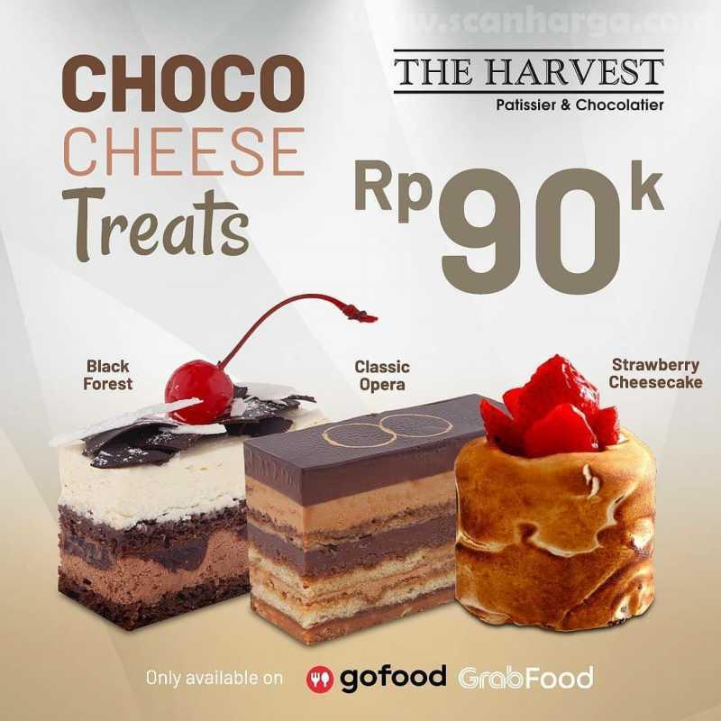 Promo The Harvest Paket Choco Cheese Treats Harga Hanya Rp 90Ribu 1