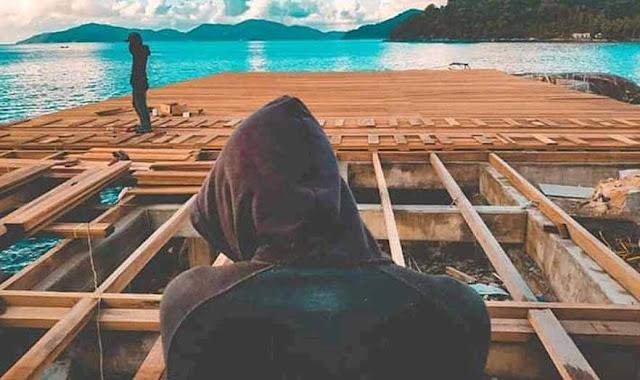 Inspirasi desain dermaga kayu untuk tempat wisata