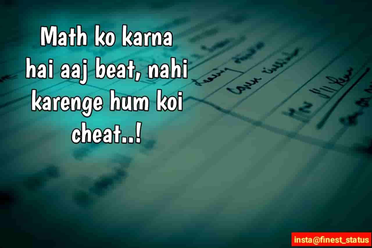 Exam Status For Whatsapp In Hindi|Exam Status Hindi FB