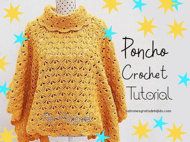 como-tejer-poncho-crochet-paso-a-paso
