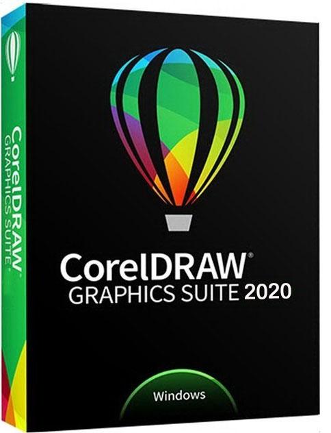 CorelDRAW Graphics Suite 2020 v22.0.0.412 poster box cover