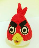 PATRON ANGRY BIRD ROJO AMIGURUMI 2131