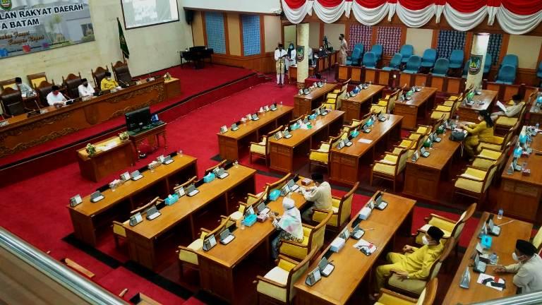 Rapat Paripurna Ke X: Rencana Pendapatan Daerah Batam 2021, Berubah Jadi Rp 2,3 Triliun