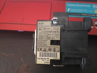 Cara Memasang Kontaktor Fuji SC 03 (Wiring)