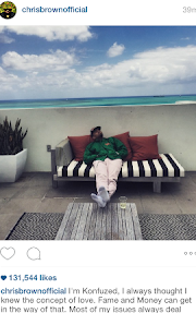 Chris Brown pours his heart out to fans in new instagram post