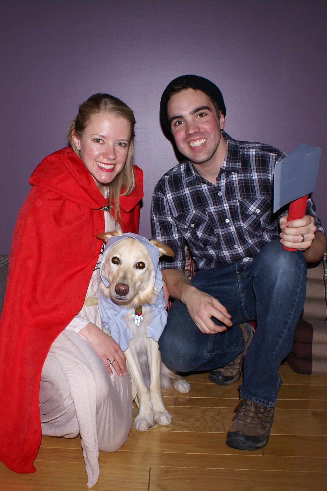Red Riding Hood Halloween Costume with Real Wolf  sc 1 st  The Cozy Condo & The Cozy Condo: Red Riding Hood Halloween Costume with Real Wolf
