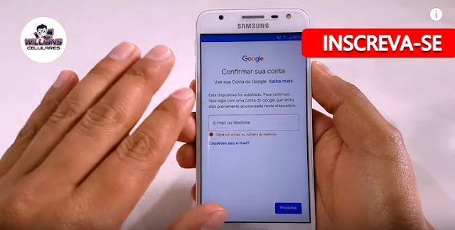 Como Remover Conta Google Samsung J5 Prime SM-G570, G570M, G570M/DS Atualizado. Sem PC