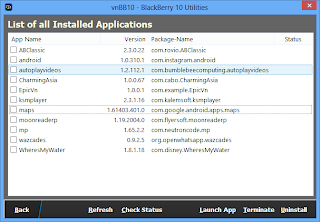 vnBB10 v1 0 1 - Utility for Side-load app from bar files into