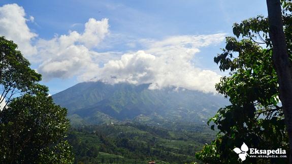 Gunung Merbabu Dari Ketep Pass