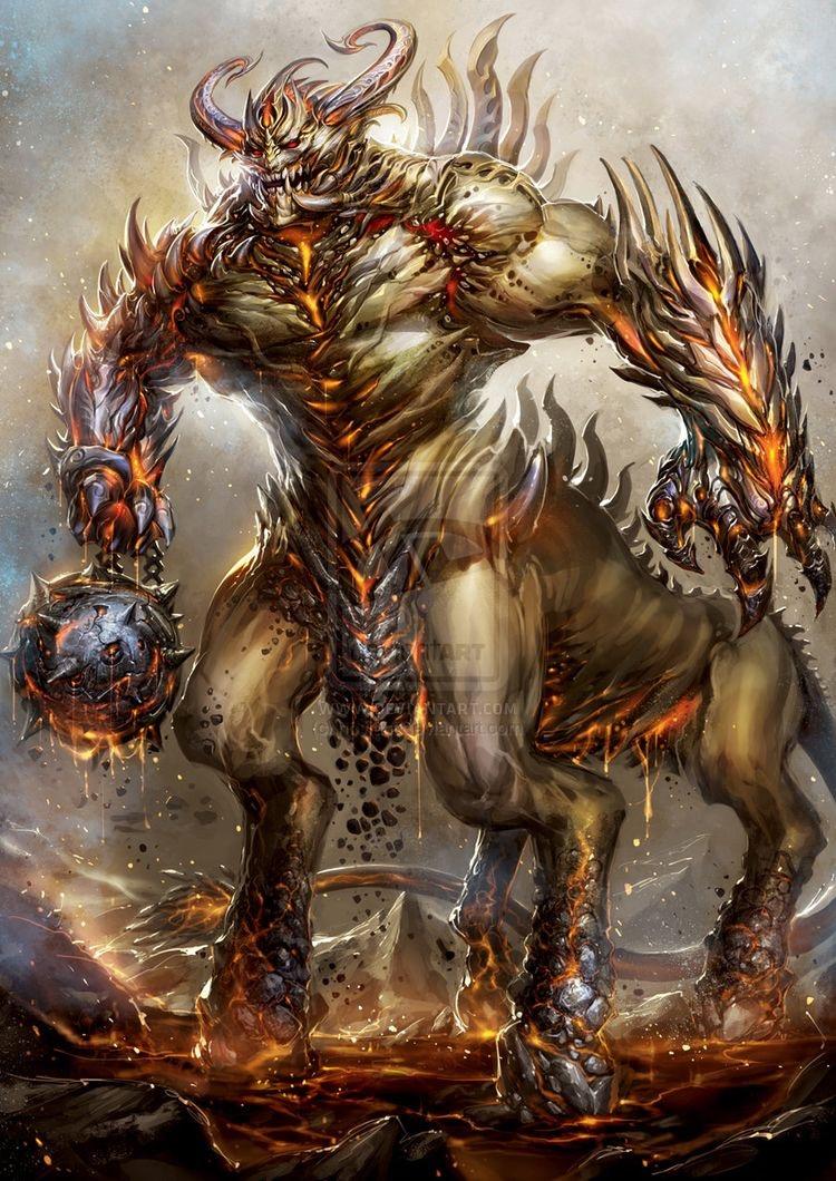 Monster Art Concept