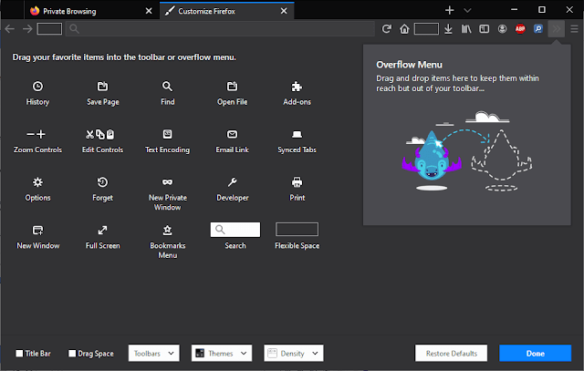 Membuka Game Tersembunyi Unicorn Pong di Firefox
