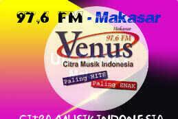 Radio Venus FM Makassar 97.6 MHz