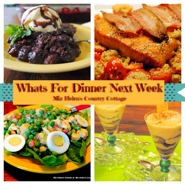Whats For Dinner Next Week, 1-30-21 at Miz Helen's Country Cottage