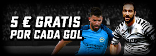 BetStars consigue 5 € gratis por cada gol ligas europa 19-21 agosto