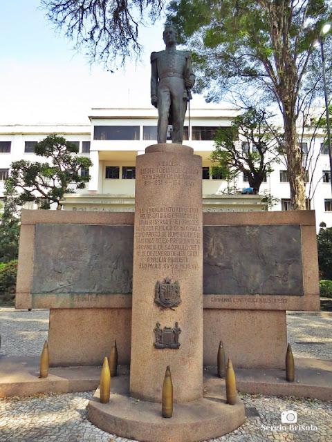 Vista do Monumento Brigadeiro Rafael Tobias de Aguiar - Bom Retiro - São Paulo