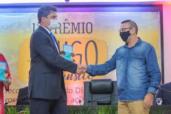 Detran-MA entrega prêmio 'Amigo do Trânsito' ao Departamento Municipal de Trânsito da cidade de Chapadinha