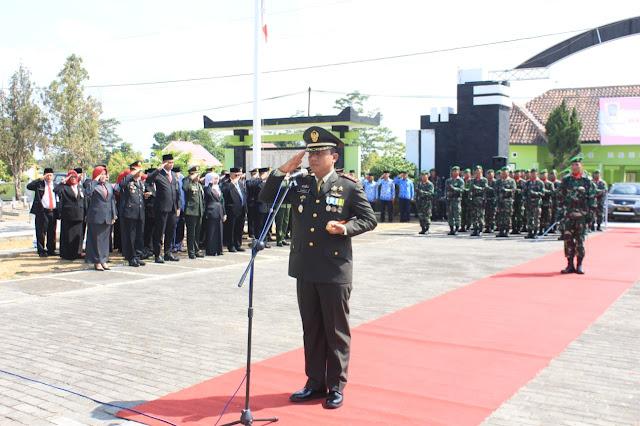 Dandim 0723 Klaten Pimpin Ziarah Hari Pahlawan