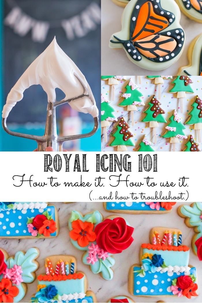 Royal Icing 101: how to make it, how to use it, and troubleshooting