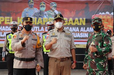 Wabup Muba Tekankan Kesiapsiagaan Hadapi Karhutlah dan Bencana Alam Tahun 2021