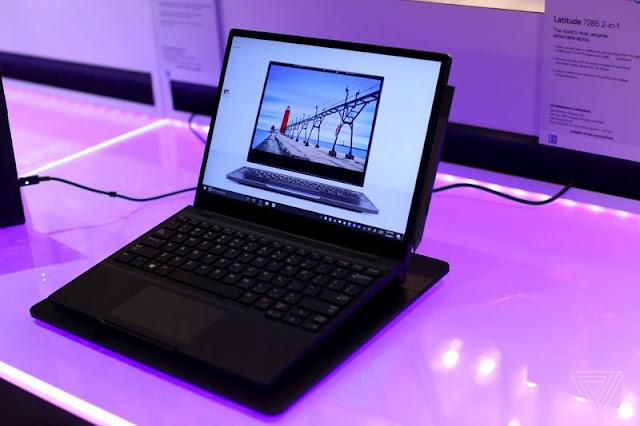 Laptop Dell 2 in 1 Latitude 7285