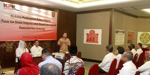KPK Jadikan Kota Semarang sebagai Model Percontohan Pembangunan Budaya Anti Korupsi