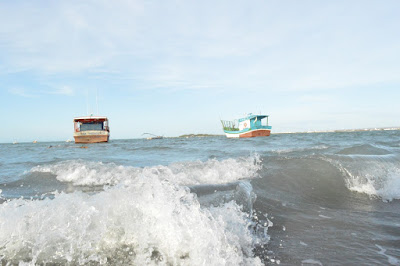 Resultado de imagem para mar grosso e vento forte no litoral potiguar