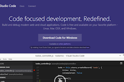 Free Download Visual Studio Code Editor Untuk Windows, Mac OS dan Linux