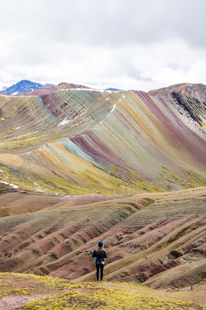 Tres Rainbows hike, Palccoyo - Peru