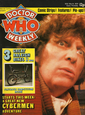 Dr Who Weekly #5, Tom Baker and Raleigh bikes
