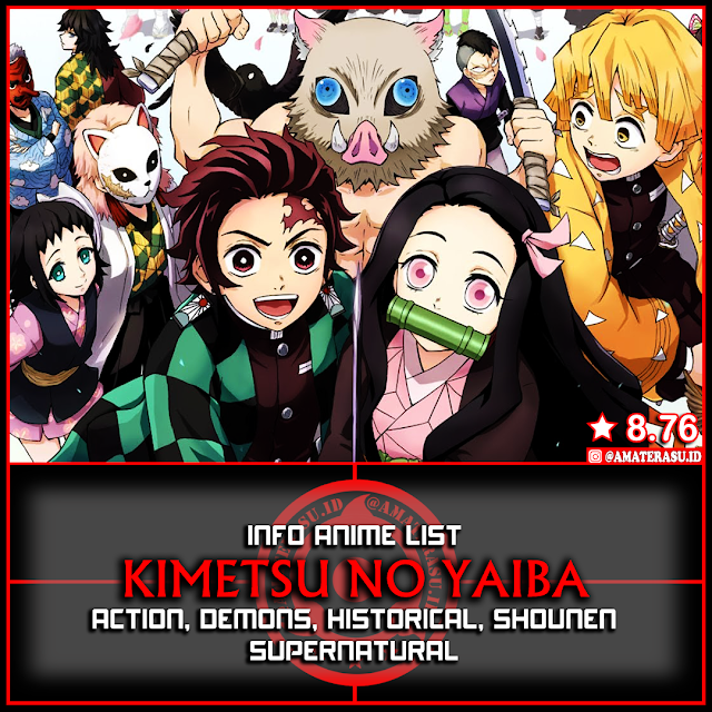 Info Anime List Kimetsu No Yaiba