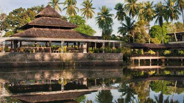 tempat makan bernuansa alam di Medan, Kenanga Garden
