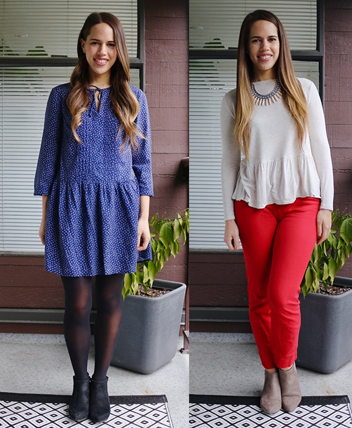 Jules in Flats - March Work Outfits