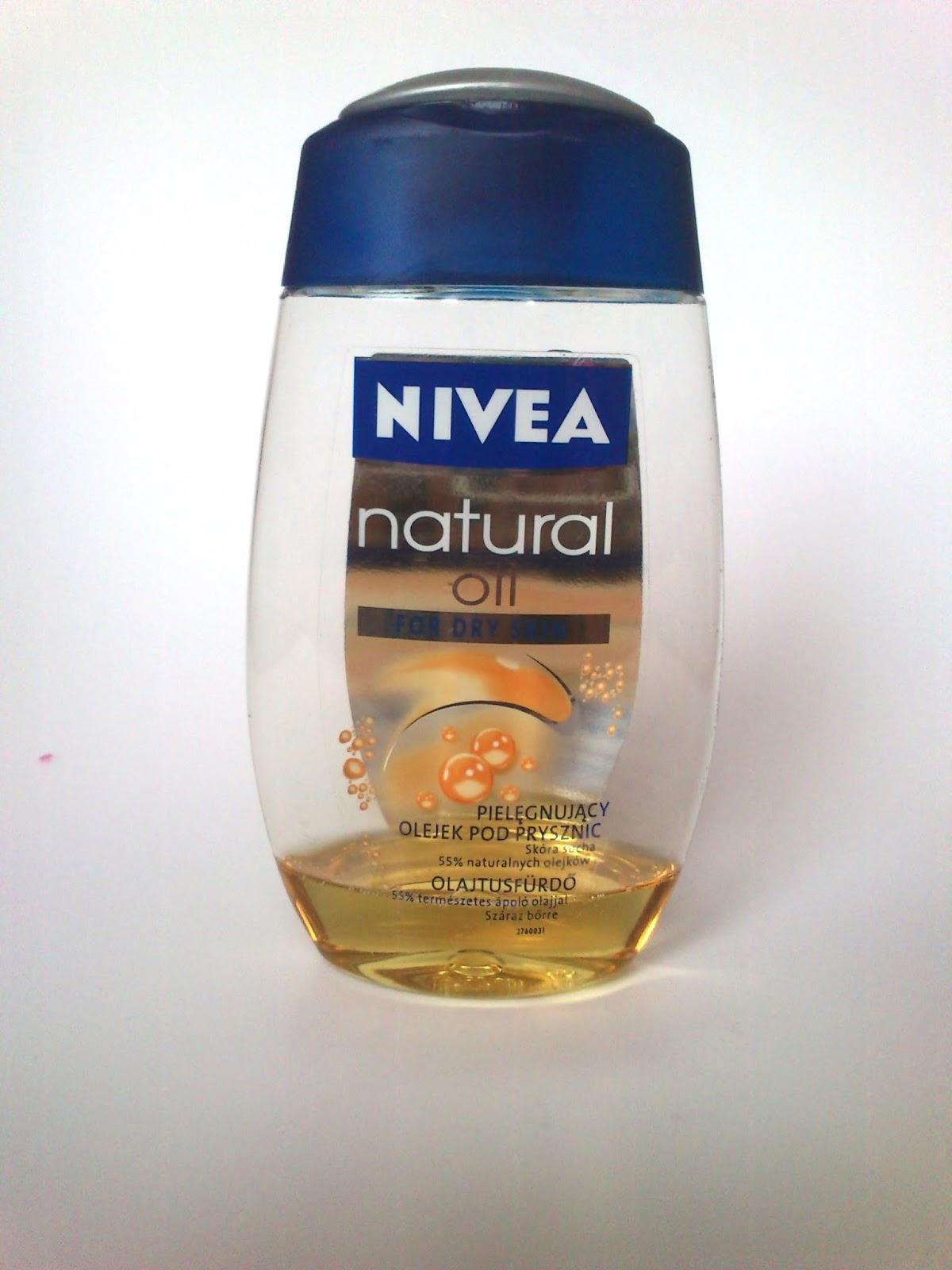 NIVEA NATURAL OIL ( pielęgnujący olejek pod prysznic )