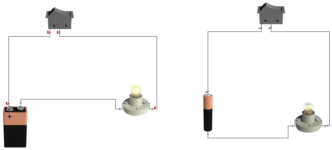 Circuito Que Tenga Un Interruptor Una Pila Y Una Bombilla : Tecnología anaisabel proyecto simulación de circuitos